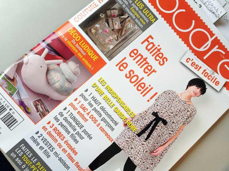 Magazine Couture Facile mars/avril