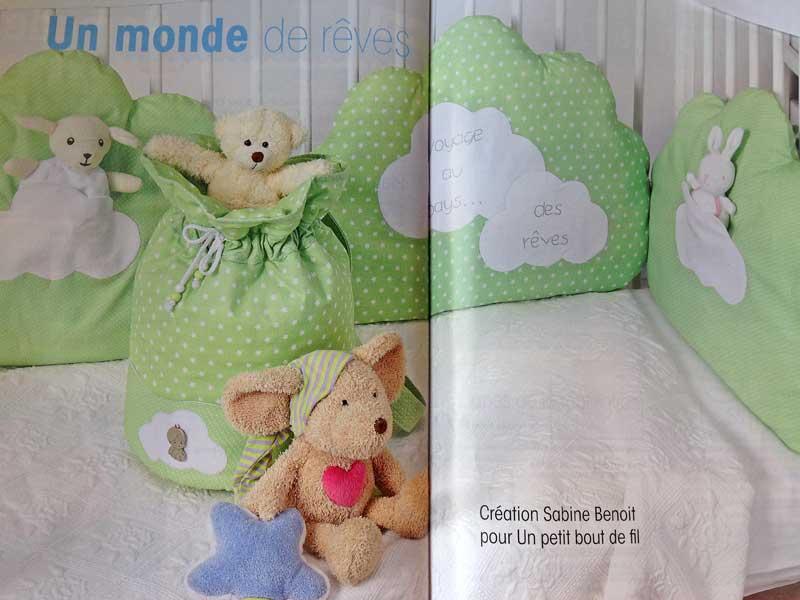 le Sac à jouets pour COUTURE FACILE, création Sabine Benoit.