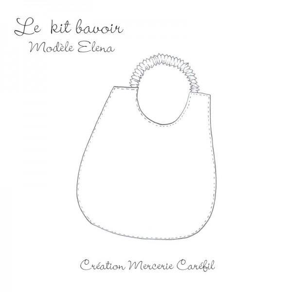 Le premier modèle de bavoir en kit By Caréfil