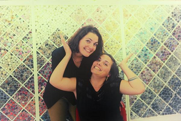Claire et Caroline lancent la mercerie en ligne en 2014
