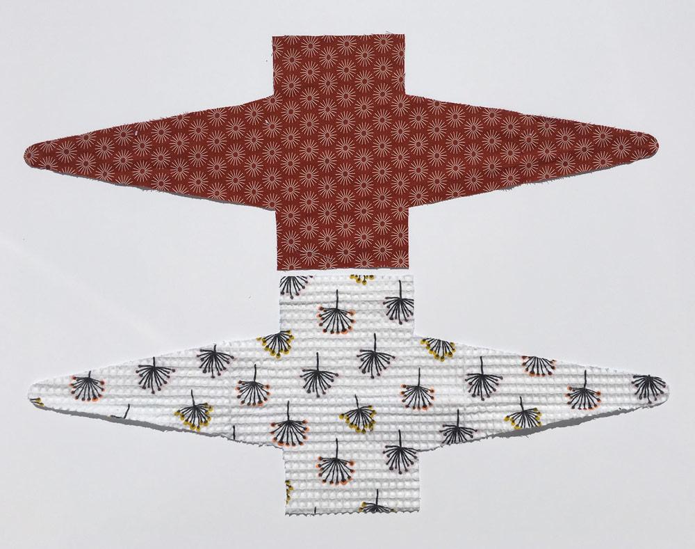 Tuto : Porte Savon -Zéro Déchet - coupe des tissus
