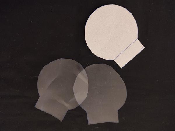 Tuto Sachet de Thé lavable réutilisable : découpe 2