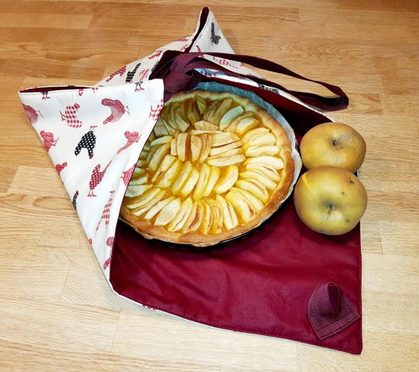 Tuto Sac à Tarte : Votre sac à tarte est prêt