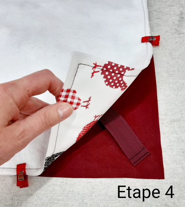 Tuto Sac à Tarte : Confection étape 4 - 1