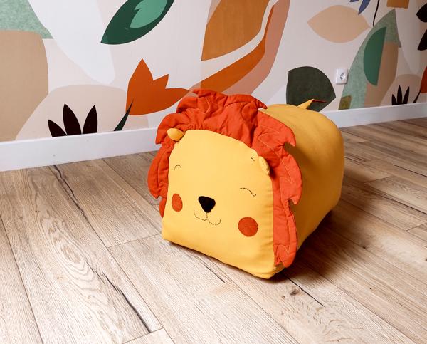 Tuto pouf lion : confection 15