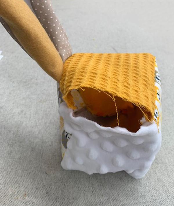 Tuto Cube d'éveil : confection 6